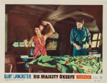 His Majesty O'Keefe 1954 DVD - Burt Lancaster / Joan Rice